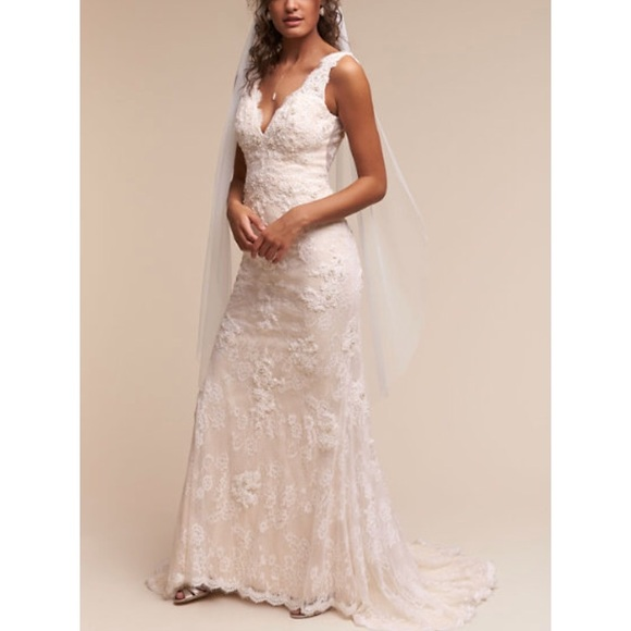 BHLDN Wedding Gown   Size 0